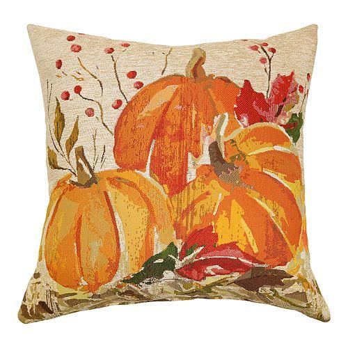 Celebrate Fall Together Pumpkins Throw Pillow