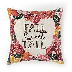 Celebrate Fall Together Fall Sweet Fall Mini Throw Pillow