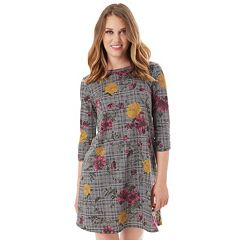 Women's Apt. 9® French Terry Swing Dress