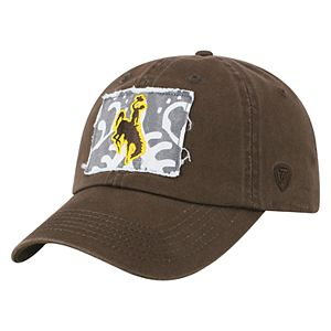 Adult Top of the World Wyoming Cowboys Slove Cap