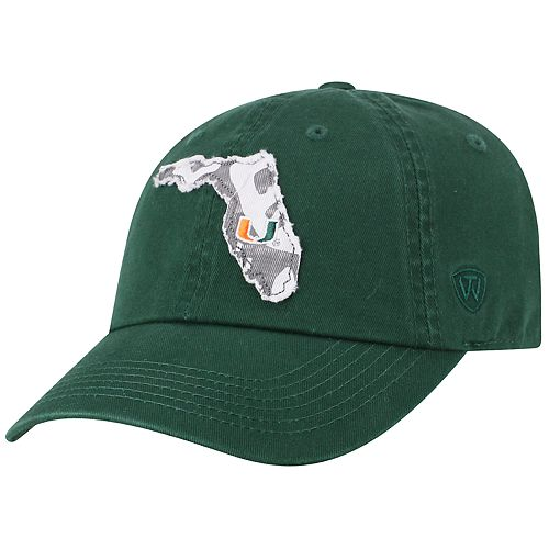 Adult Top of the World Miami Hurricanes Slove Cap