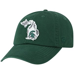 Adult Top of the World Michigan State Spartans Slove Cap