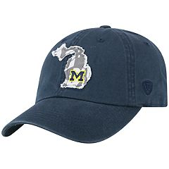 Adult Top of the World Michigan Wolverines Slove Cap
