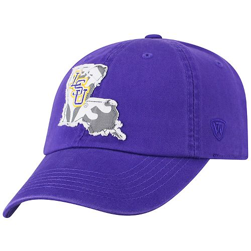 Adult Top of the World LSU Tigers Slove Cap