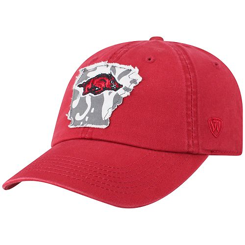 Adult Top of the World Arkansas Razorbacks Slove Cap