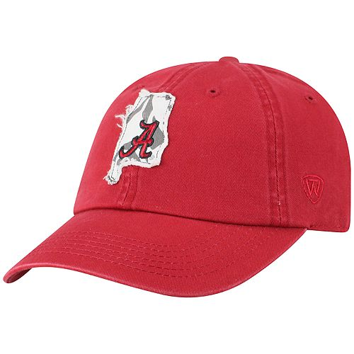 Adult Top of the World Alabama Crimson Tide Slove Cap