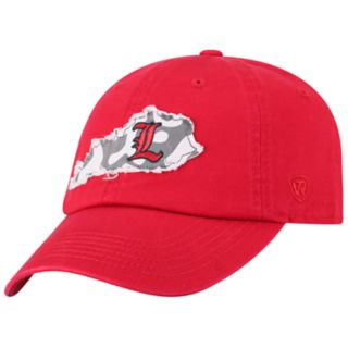 Adult Top of the World Louisville Cardinals Slove Cap