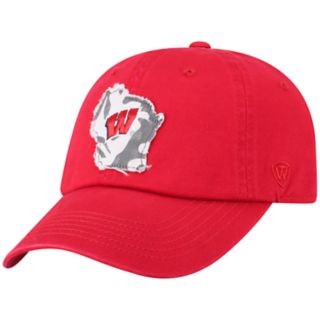 Adult Top of the World Wisconsin Badgers Slove Cap