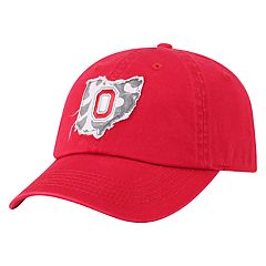 Adult Top of the World Ohio State Buckeyes Slove Cap