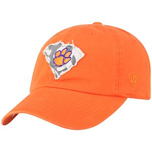 Adult Top of the World Clemson Tigers Slove Cap