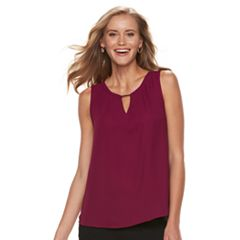 Women's Dana Buchman Metal Accent Sleeveless Top