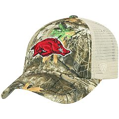 981ca921764 Adult Top of the World Arkansas Razorbacks Realtree Sentury Cap
