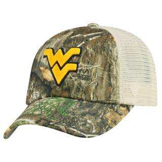 Adult Top of the World West Virginia Mountaineers Realtree Sentury Cap