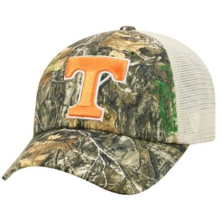 Adult Top of the World Tennessee Volunteers Realtree Sentury Cap