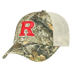 Adult Top of the World Rutgers Scarlet Knights Realtree Sentury Cap