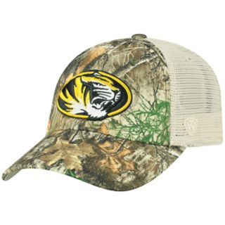 Adult Top of the World Missouri Tigers Realtree Sentury Cap
