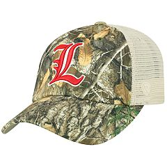 the latest 43b11 6e2bd Adult Top of the World Louisville Cardinals Realtree Sentury Cap