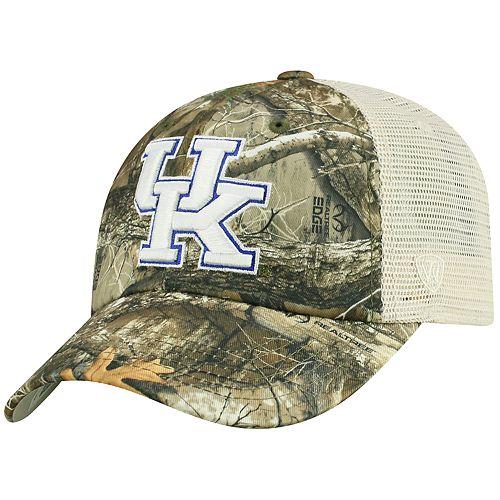 Adult Top of the World Kentucky Wildcats Realtree Sentury Cap