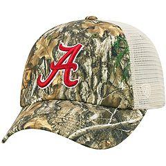 Adult Top of the World Alabama Crimson Tide Realtree Sentury Cap