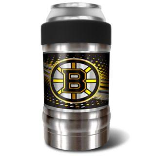 Boston Bruins Black Locker 12-Oz. Insulated Can Holder