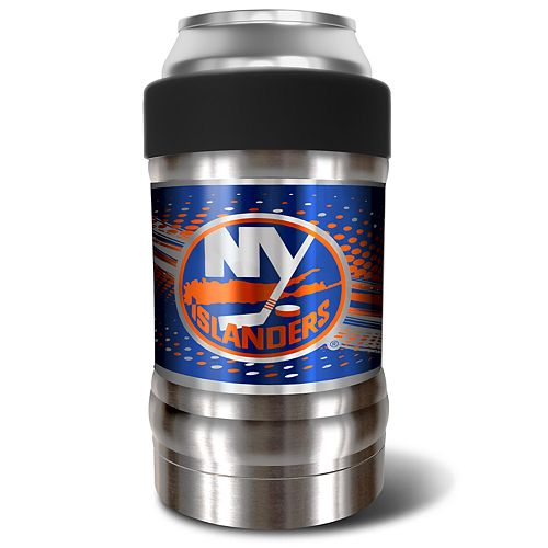 New York Islanders Black Locker 12-Oz. Insulated Can Holder