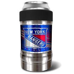 New York Rangers Black Locker 12-Oz. Insulated Can Holder