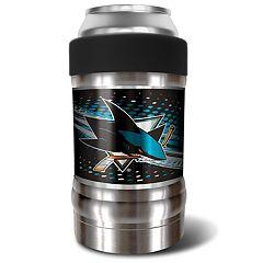 San Jose Sharks Black Locker 12-Oz. Insulated Can Holder