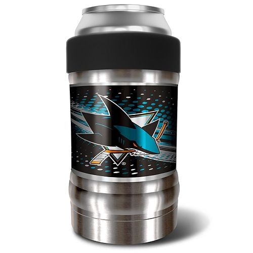 San Jose Sharks Black Locker 12-Oz. Insulated Can Holder