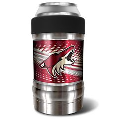 Arizona Coyotes Black Locker 12-Oz. Insulated Can Holder
