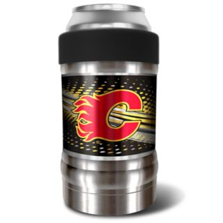 Calgary Flames Black Locker 12-Oz. Insulated Can Holder
