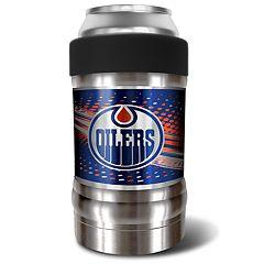 Edmonton Oilers Black Locker 12-Oz. Insulated Can Holder