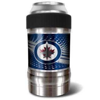 Winnipeg Jets Black Locker 12-Oz. Insulated Can Holder