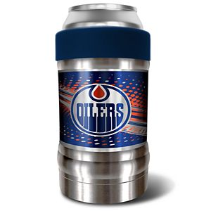 Edmonton Oilers Blue Locker 12-Oz. Insulated Can Holder
