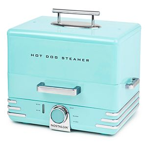 Nostalgia Electrics Diner Style Hot Dog Steamer
