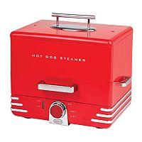 Nostalgia Electrics Diner Style Hot Dog Steamer