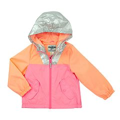 Girls 4-6x OshKosh B'gosh® Fleece-Lined Colorblock Lightweight Jacket