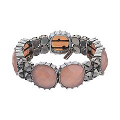 Simply Vera Vera Wang Simulated Gemstone Stretch Bracelet