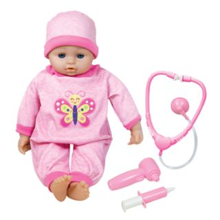 Lissi 16-in. Baby Doll Interactive Doctor & Medical Set