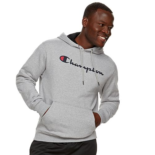 617f383a697b Men s Champion Powerblend Pull-Over Fleece Hoodie