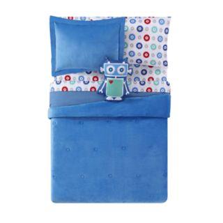 Laura Hart Kids Velvet & Jersey Comforter Set