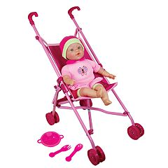 Lissi 16-in. Baby Doll & Umbrella Stroller Set
