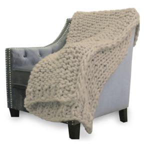 Park Avenue Super Chunky Knit Throw