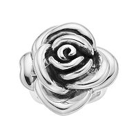 Sterling Silver Electroform Rose Ring