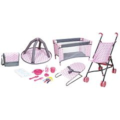 Lissi 5-Piece Baby Doll Deluxe Nursery Play Set