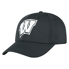 Adult Top of the World Wisconsin Badgers Tension Cap