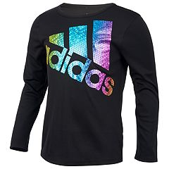 Girls 4-6x adidas Foiled Mesh Logo Graphic