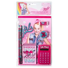 Girls 4-16 JoJo Siwa 7-piece Calculator & Notepad Set