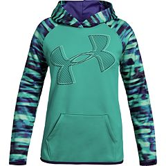 Girls 7-16 Under Armour Printed Logo Hoodie