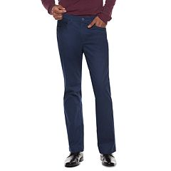 Men's Apt. 9® Premier Flex Straight-Fit 5-Pocket Pants