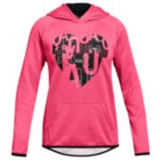Girls 7-16 Under Armour Fleece Heart Hoodie